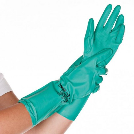 Gloves nitrile for chemicals