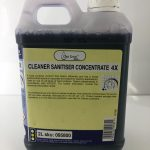 4X Cleaner Sanitiser Concentrate