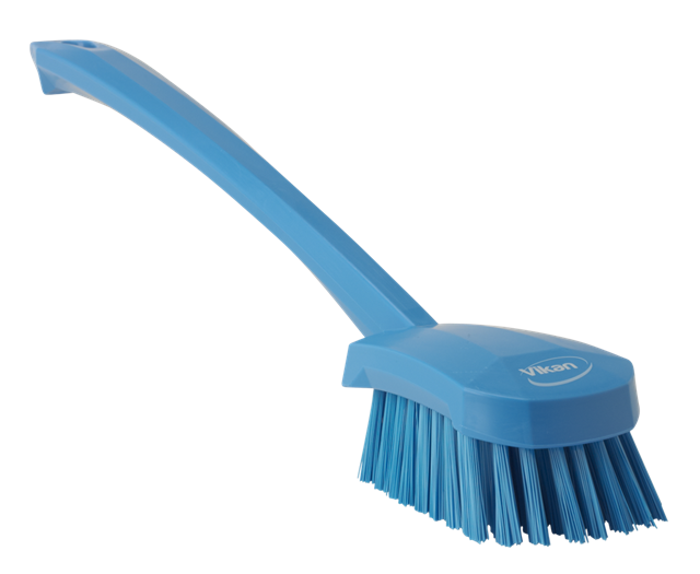 Washing Brush w/long Handle, Medium