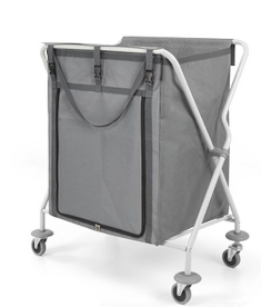 FOLDABLE LAUNDRY TROLLEY