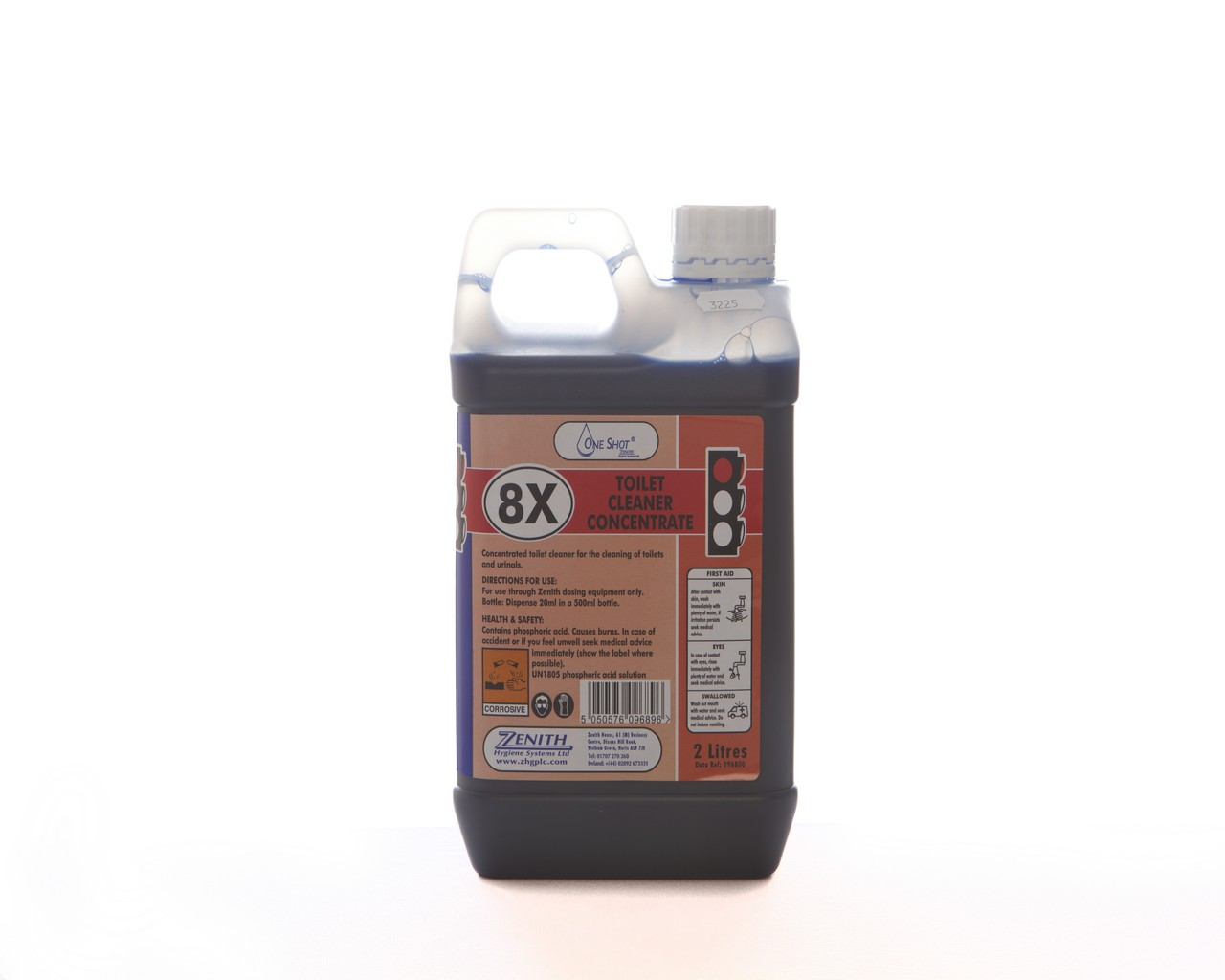 8X Toilet Cleaner Concentrate
