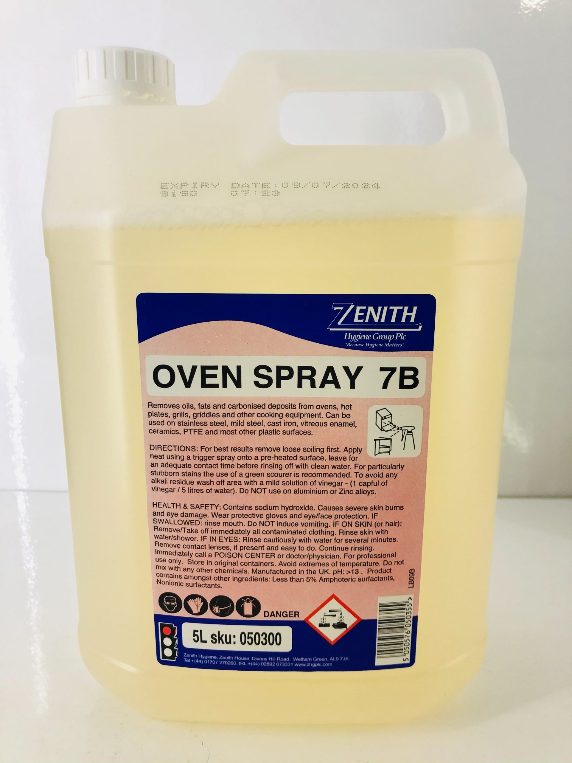 7B Cold Oven Cleaner