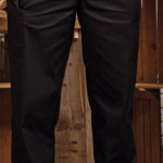 Chef Trousers black elasticated