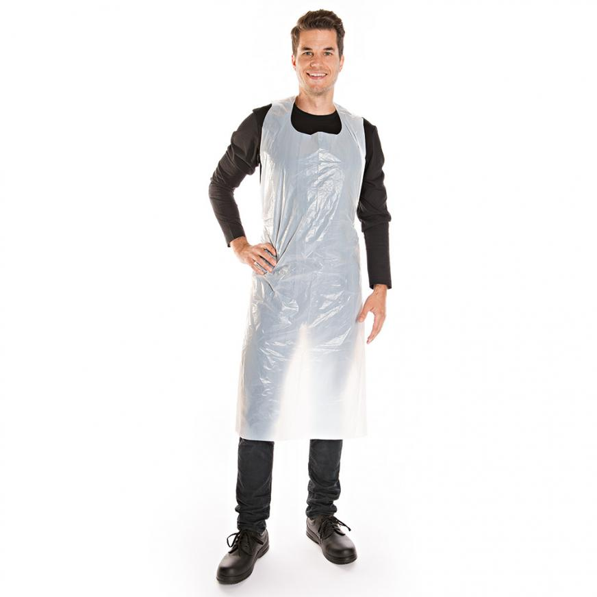 Disposable aprons in bag | LDPE – 10my